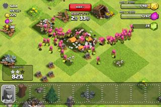 クラッシュオブクラン 人の村を襲う